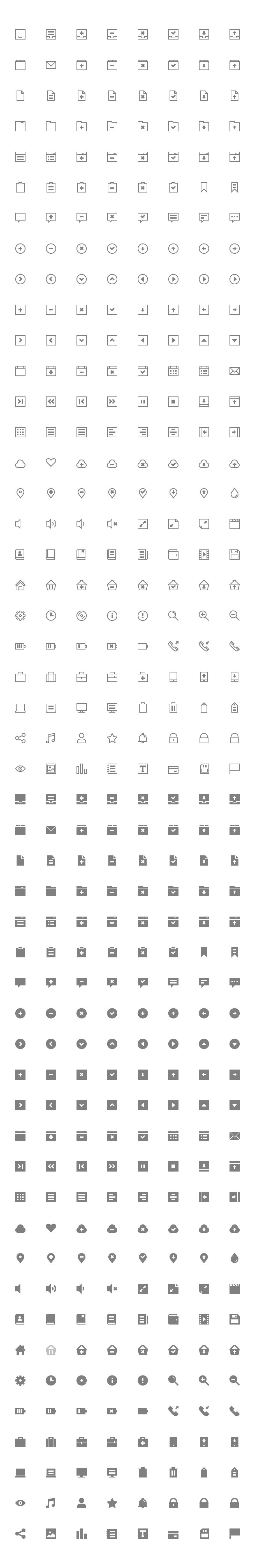 400 Free Icons