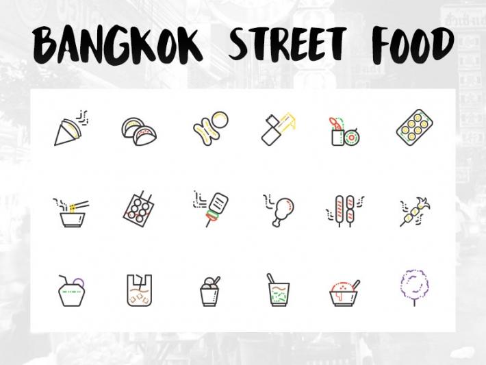バンコク、ストリートフードのアイコン