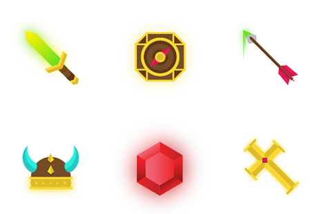 FREE Fantasy icon set